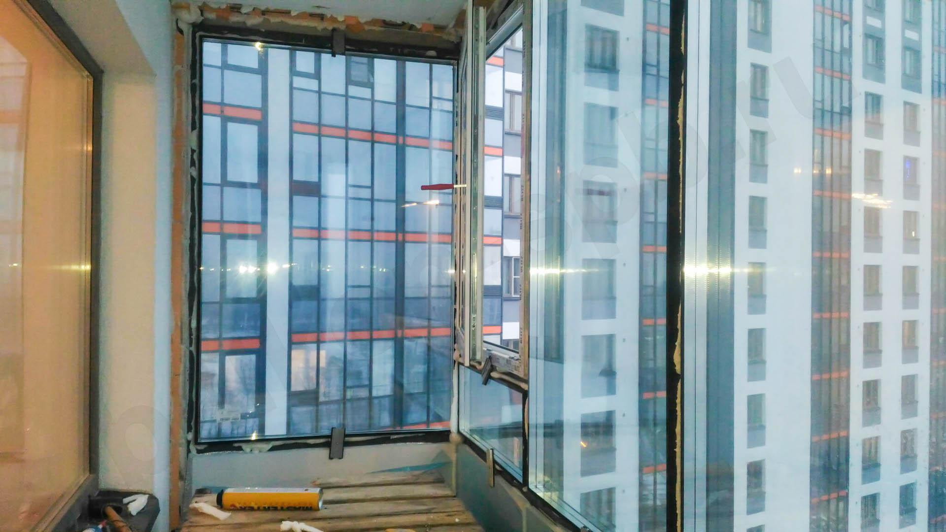 Утепление фасадного остекления балкона жк вива: технология у.