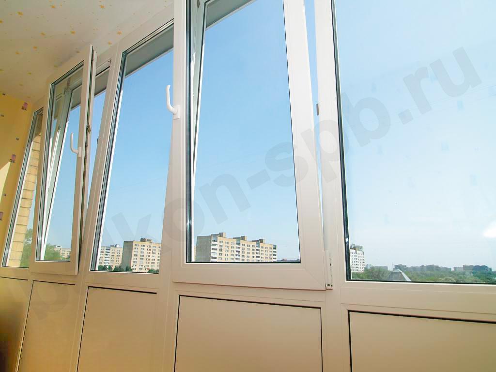 Цены на остекление балкона алюминиевым профилем.